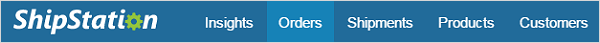 Click on the Orders tab