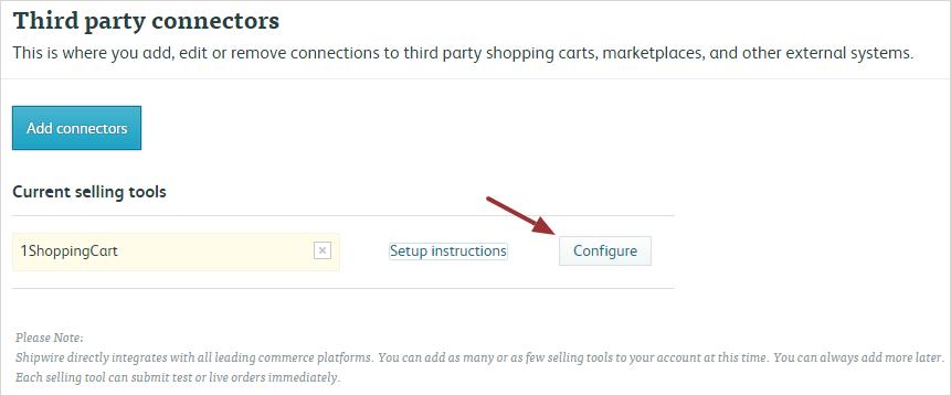 configure 1shoppingcart